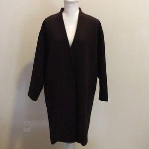 H&M Black Women's Dress Coat. Women's Size 14